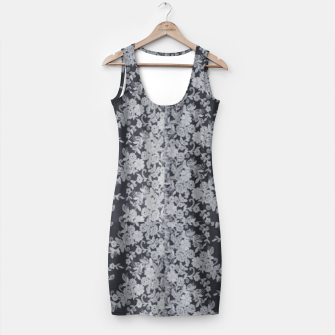 Thumbnail image of Black Floral Lace Simple Dress, Live Heroes