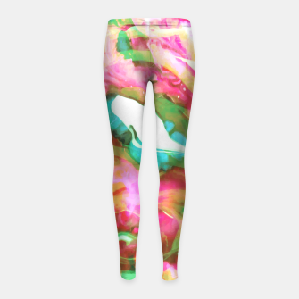 Thumbnail image of Serendipity Girl's Leggings, Live Heroes