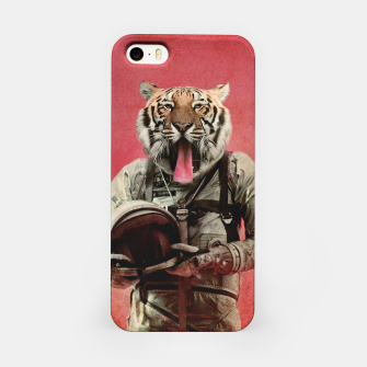 Miniatur Space Tiger iPhone Case, Live Heroes