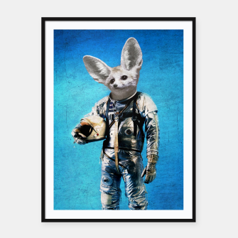 Thumbnail image of Fennec The Captain Framed poster, Live Heroes