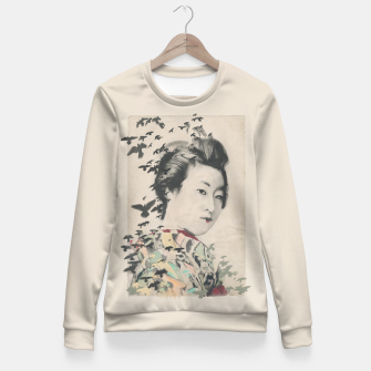 Thumbnail image of She, Birdy Fitted Waist Sweater, Live Heroes