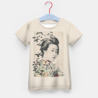 Thumbnail image of She, Birdy Kid's T-shirt, Live Heroes