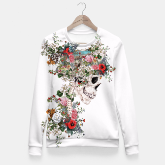 Thumbnail image of Skull Queen Fitted Waist Sweater, Live Heroes