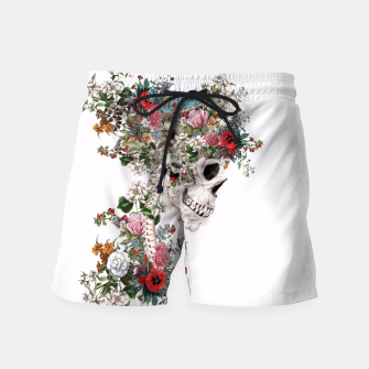 Thumbnail image of Skull Queen Swim Shorts, Live Heroes