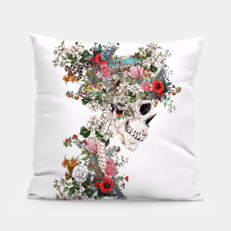 Thumbnail image of Skull Queen Pillow, Live Heroes