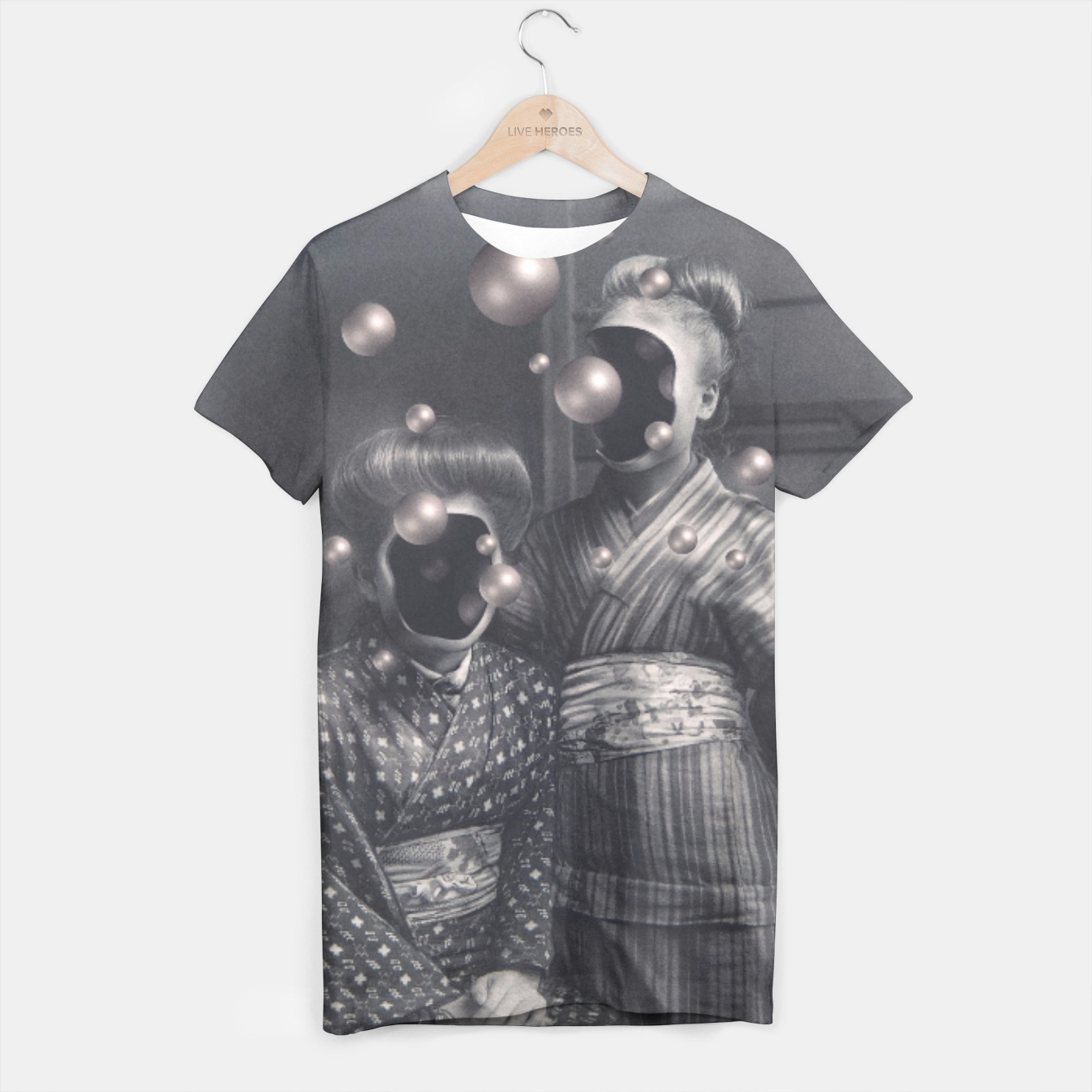 Image of Pearl Sisters T-shirt - Live Heroes