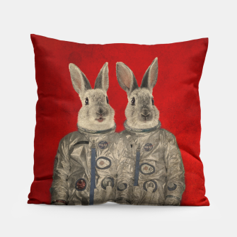 Thumbnail image of We Are Ready Pillow, Live Heroes