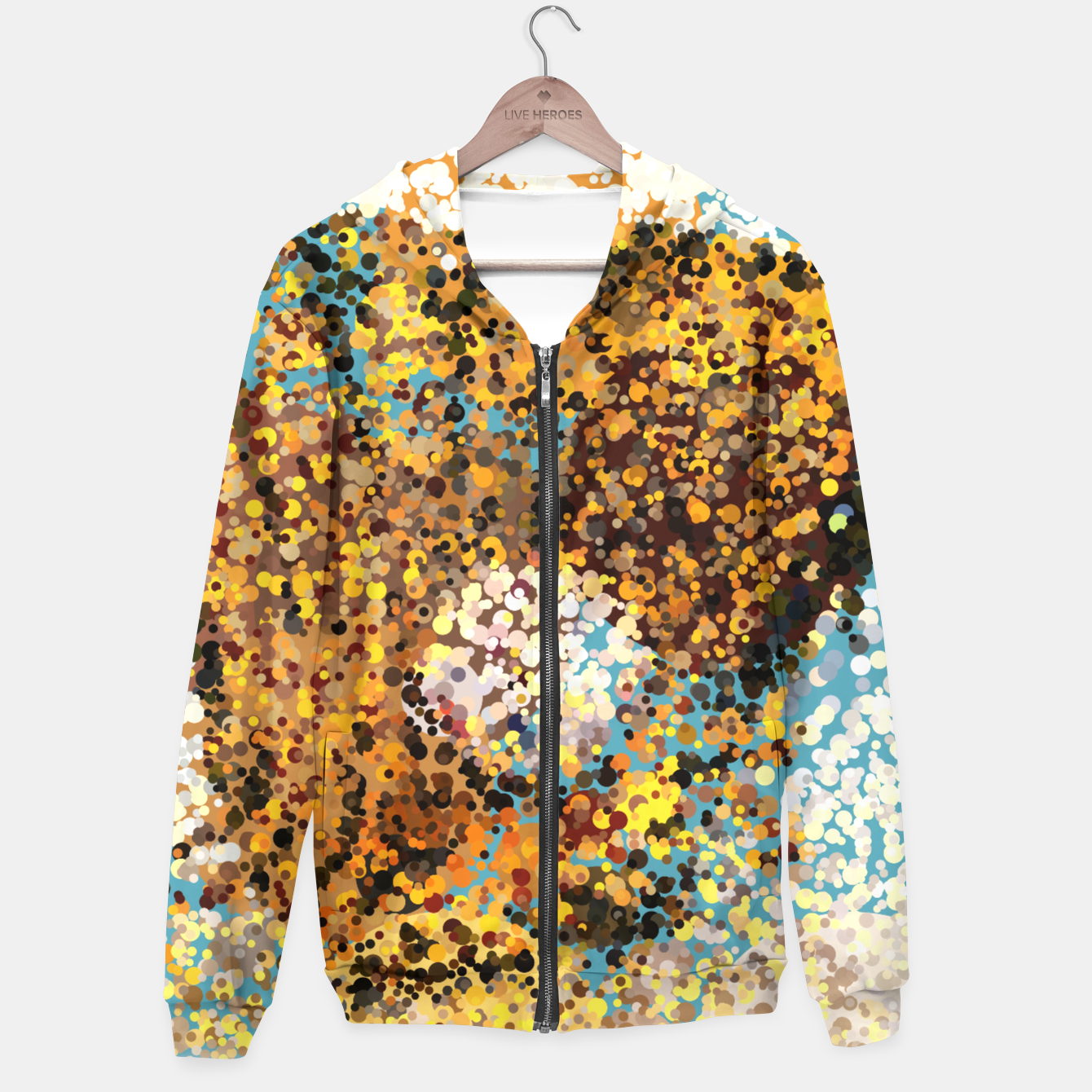 Image of Colorful Play Hoodie - Live Heroes
