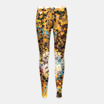 Colorful Play Girl's Leggings thumbnail image