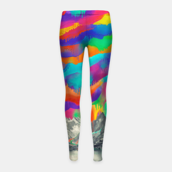Skyfall Girl's Leggings thumbnail image
