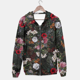 Thumbnail image of Botanical Flowers IV Dark  Hoodie, Live Heroes