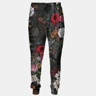 Thumbnail image of Botanical Flowers IV Dark  Sweatpants, Live Heroes