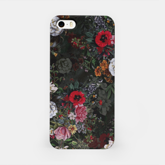 Thumbnail image of Botanical Flowers IV Dark  iPhone Case, Live Heroes