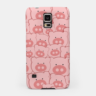 Thumbnail image of Piggy Pigs Pattern Samsung Case, Live Heroes