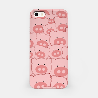 Thumbnail image of Piggy Pigs Pattern iPhone Case, Live Heroes