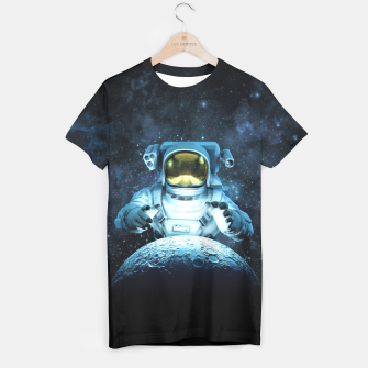 Thumbnail image of Reach for the Moon T-shirt, Live Heroes