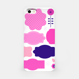 Thumbnail image of Iphone case with Pink buttons, Live Heroes