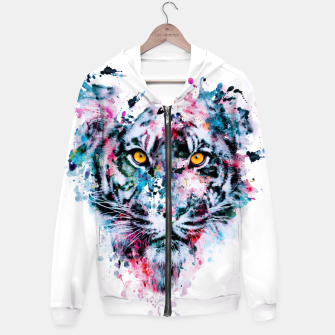 Thumbnail image of Tiger Blue Hoodie, Live Heroes