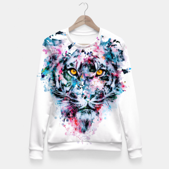 Tiger Blue Fitted Waist Sweater thumbnail image