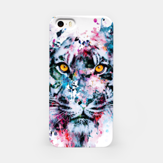 Tiger Blue iPhone Case thumbnail image