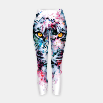 Tiger Blue Yoga Pants thumbnail image