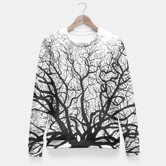 Thumbnail image of Tree Fitted Waist Sweater, Live Heroes
