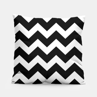 Thumbnail image of Designers artistic Pillow : BLACK WHITE 50s edition, Live Heroes
