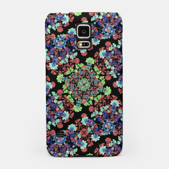 Thumbnail image of Colorful Stylized Floral Collage Samsung Case, Live Heroes