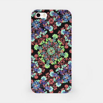 Thumbnail image of Colorful Stylized Floral Collage iPhone Case, Live Heroes