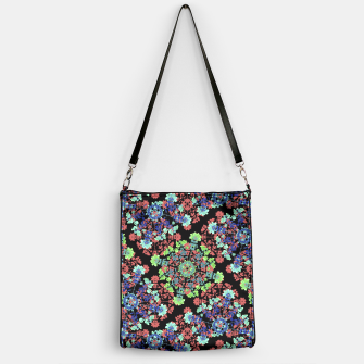 Thumbnail image of Colorful Stylized Floral Collage Handbag, Live Heroes
