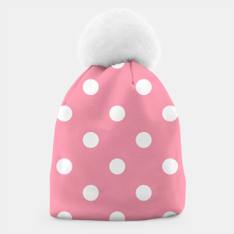 Thumbnail image of Designers retro hat pink with 50s dots, Live Heroes