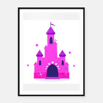 Thumbnail image of Artistic poster : PINK CASTLE 50s style, Live Heroes