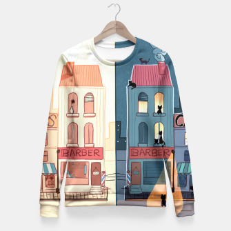 Thumbnail image of Urban Parallels Fitted Waist Sweater, Live Heroes