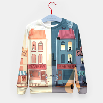 Thumbnail image of Urban Parallels Kid's Sweater, Live Heroes