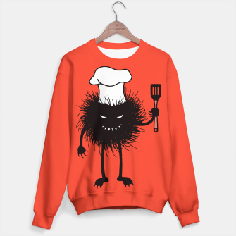 Thumbnail image of Evil Bug Chef Loves To Cook Sweater, Live Heroes