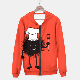 Thumbnail image of Evil Bug Chef Loves To Cook Hoodie, Live Heroes