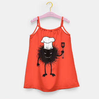 Thumbnail image of Evil Bug Chef Loves To Cook Girl's Dress, Live Heroes