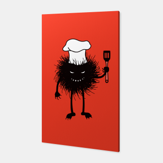 Thumbnail image of Evil Bug Chef Loves To Cook Canvas, Live Heroes
