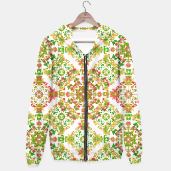 Thumbnail image of Colorful Stylized Floral Boho Hoodie, Live Heroes
