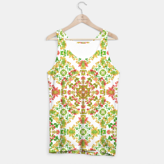Thumbnail image of Colorful Stylized Floral Boho Tank Top, Live Heroes