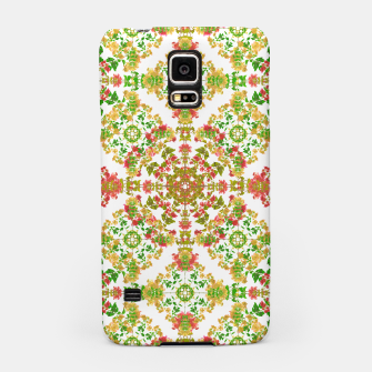 Thumbnail image of Colorful Stylized Floral Boho Samsung Case, Live Heroes