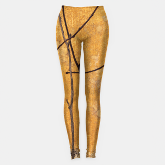 Golden wall Leggings obraz miniatury