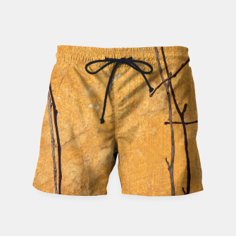 Golden wall Swim Shorts obraz miniatury