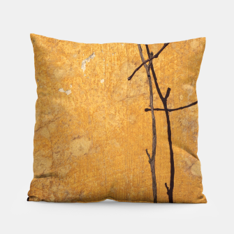Golden wall Pillow obraz miniatury