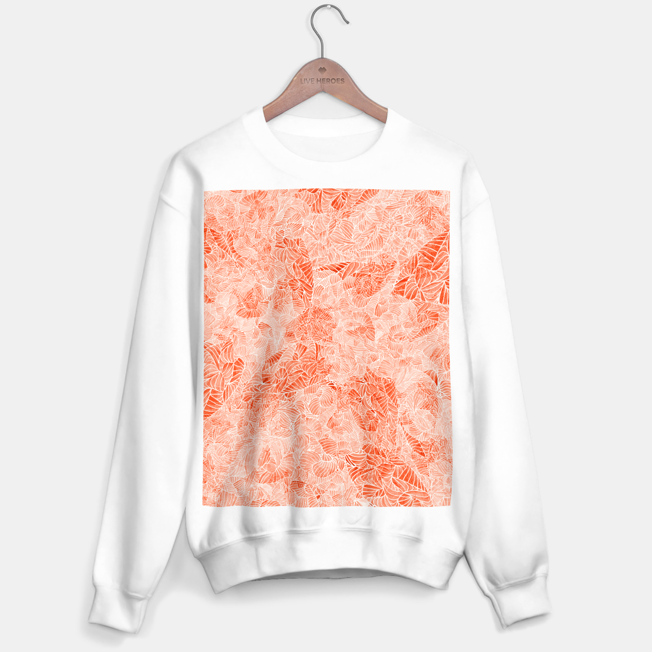 Image of orng Sweater regular - Live Heroes