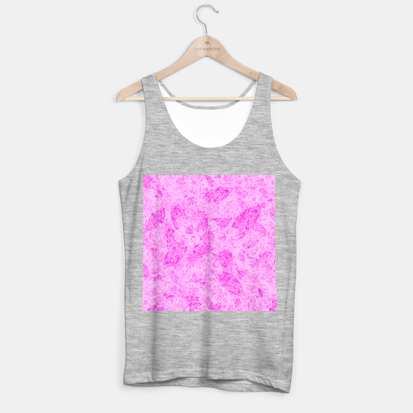 Image of pnk Tank Top regular - Live Heroes