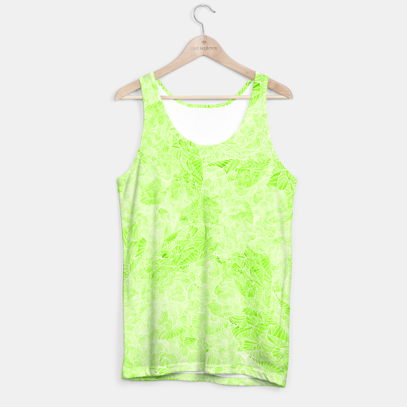 Image of gld Tank Top - Live Heroes