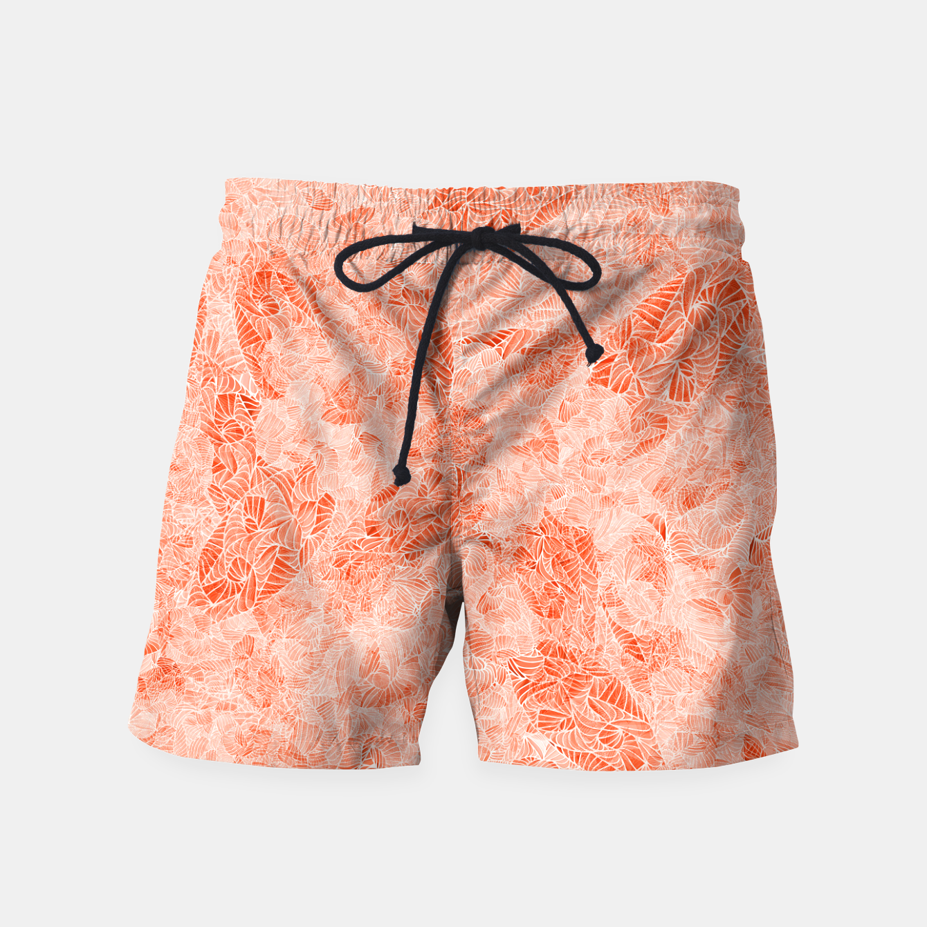 Image of orng Swim Shorts - Live Heroes