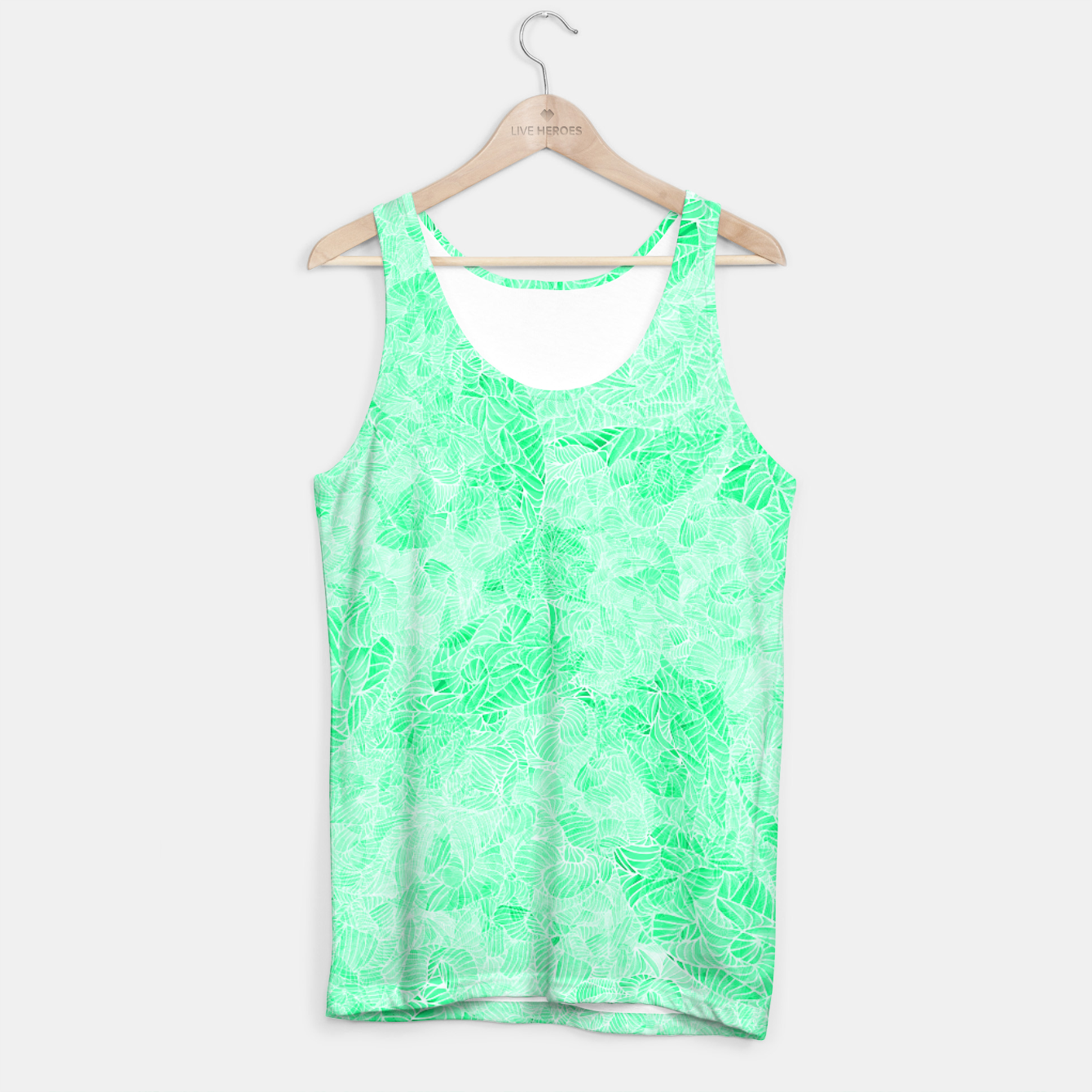 Image of tq Tank Top - Live Heroes