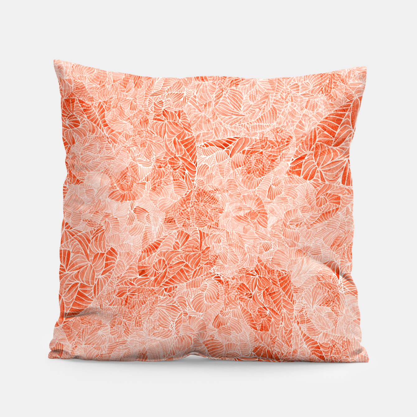 Image of orng Pillow - Live Heroes